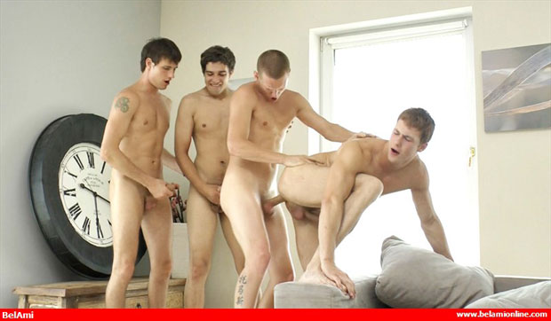 Alec Rothko, Marco Bill, Paul Valery and Marcel Gassion - BelAmiOnline.com