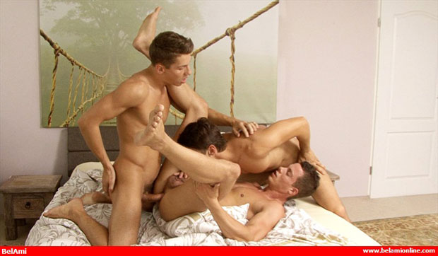 Jim Kerouac, Erik Bouna and Alex Orioli - BelAmiOnline.com