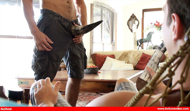 Watch Phillipe Gaudin and Manuel Rios have bareback sex at Bel Ami Online