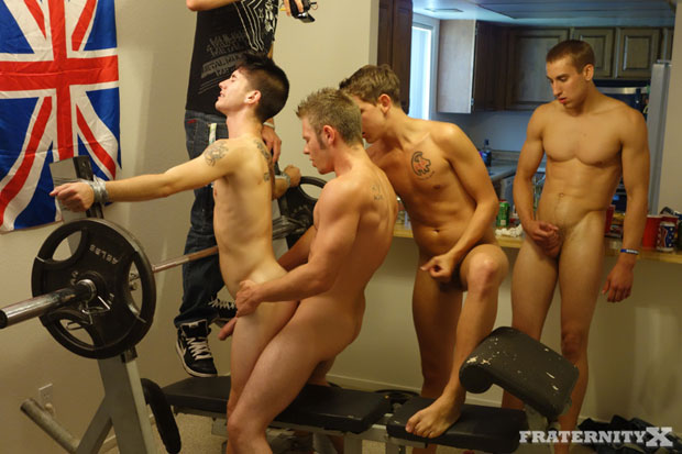 Ryan, Travis, AJ and Stiffer - FraternityX.com