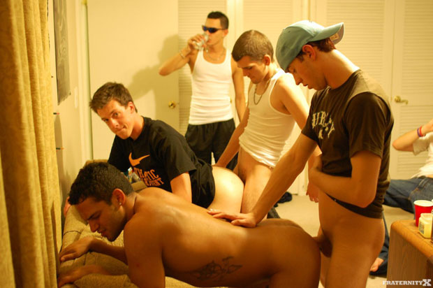 Anthony, Seth, Bently and Jose - FraternityX.com