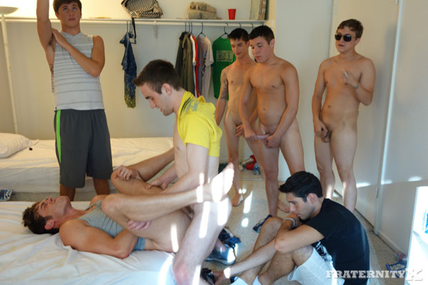 Sean, Morgan, Andrew, Travis and Danny - FraternityX.com