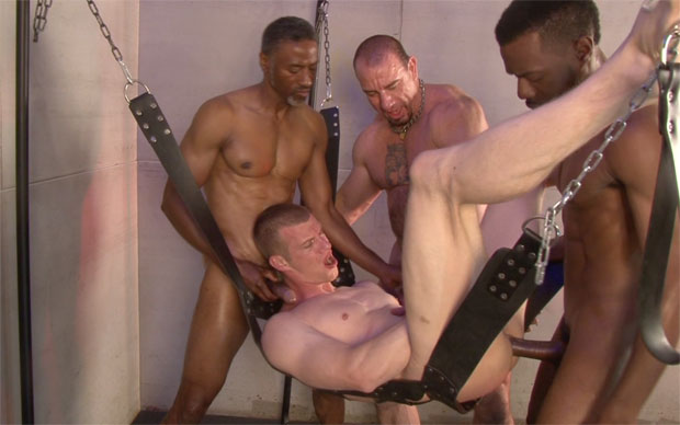 Jerry Sterns, Chase Coxxx, Ed Hunter and Blake Daniels - RawFuckClub.com