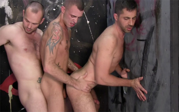 Owen Hawk, Brandon Hawk and Jessy Karson - RawFuckClub.com