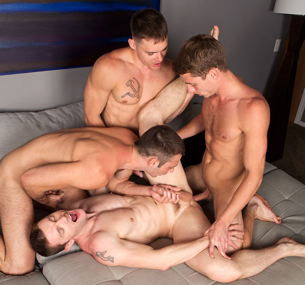 Dennis, Liev, Taylor and Jarek - SeanCody.com