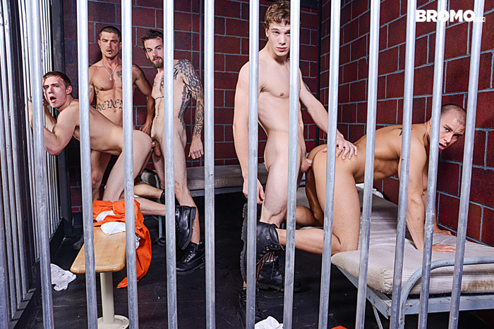 Bromo Explores What it Might be Like for Guys to get Barebacked in Prison