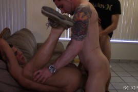 Numerous Holes get Filled with Cum From Bareback Excitement at Sketchy Sex
