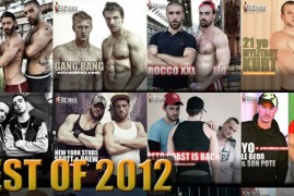 The Very Best Bareback Videos of 2012 – Now Showing at Eric Videos