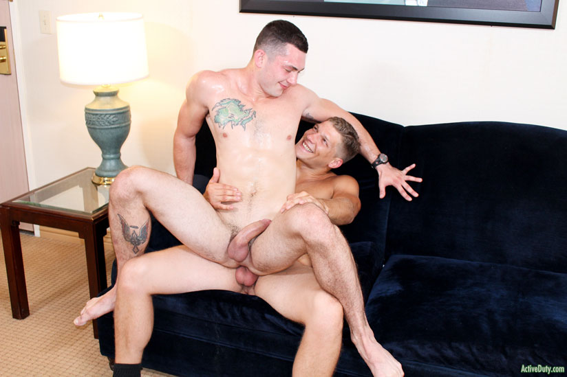 Johnny and Bridger - Active Duty