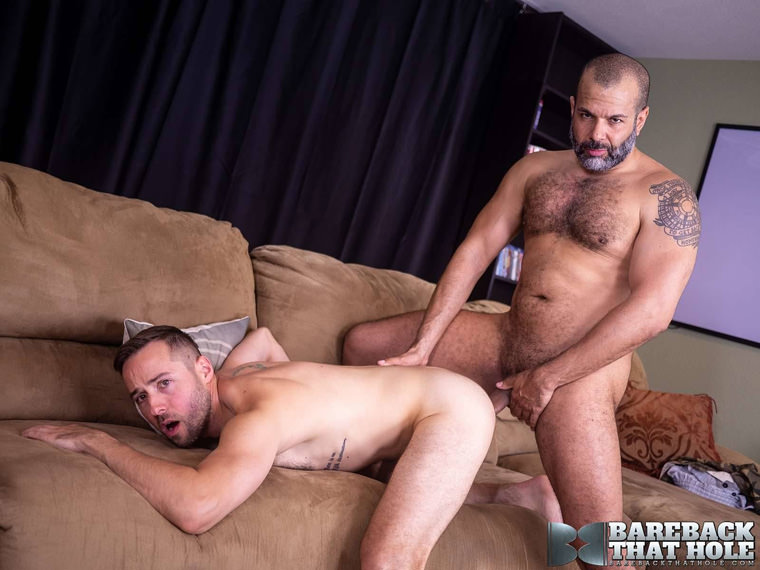 Sterling Johnson and Joey Wagner - Bareback That Hole