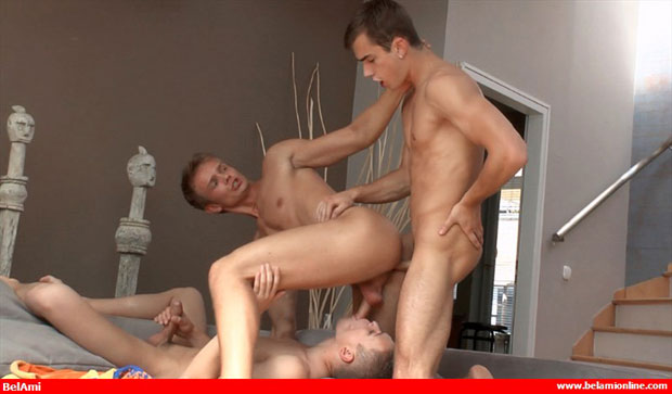 Tom Pollock, Scott Bennet and Claude Sorel - BelAmiOnline.com
