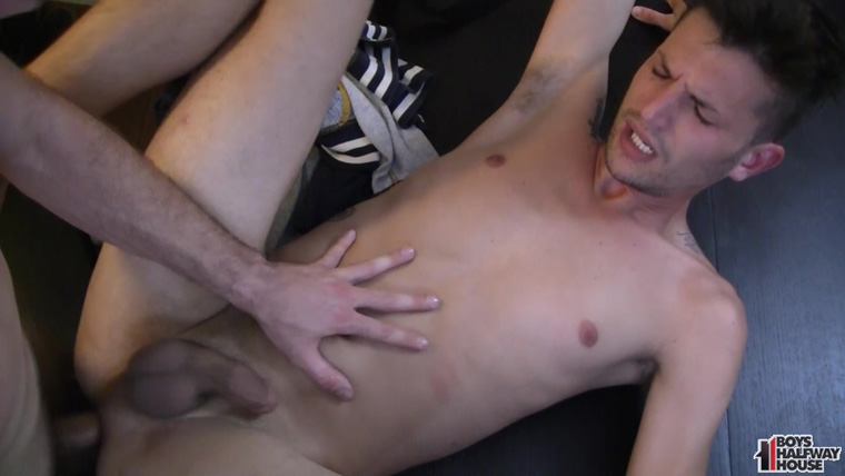 Clay and Devin Marcel - Boys Halfway House | Bareback