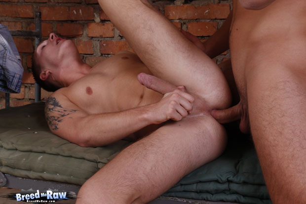 Watch Mathew Ross and John Parker have bareback sex at Breed Me Raw
