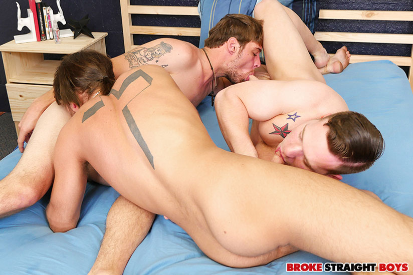 Owen Michaels, Zeno Kostas and John Henry - Broke Straight Boys