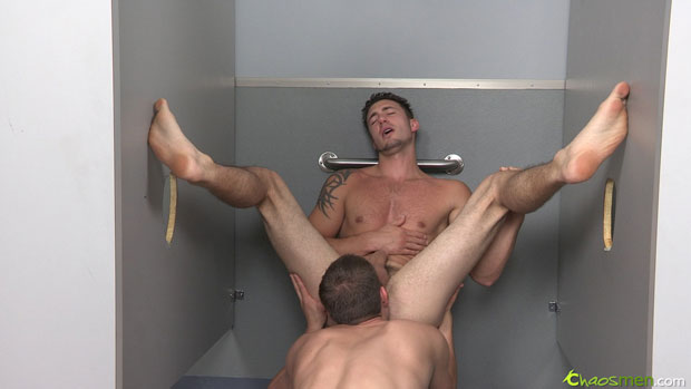 Watch Bishop and Jet have bareback sex at ChaosMen