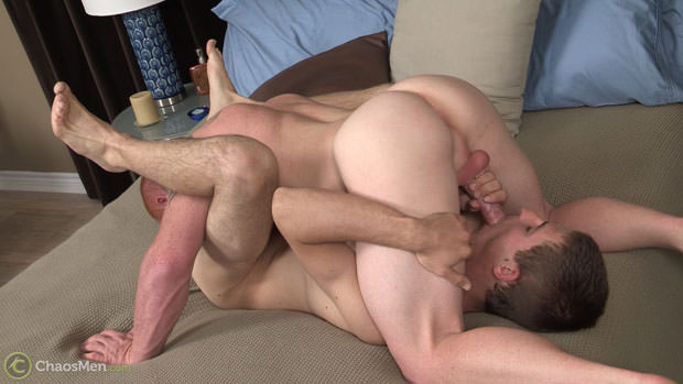 Watch Byron and Jordan Cleary have bareback sex at ChaosMen