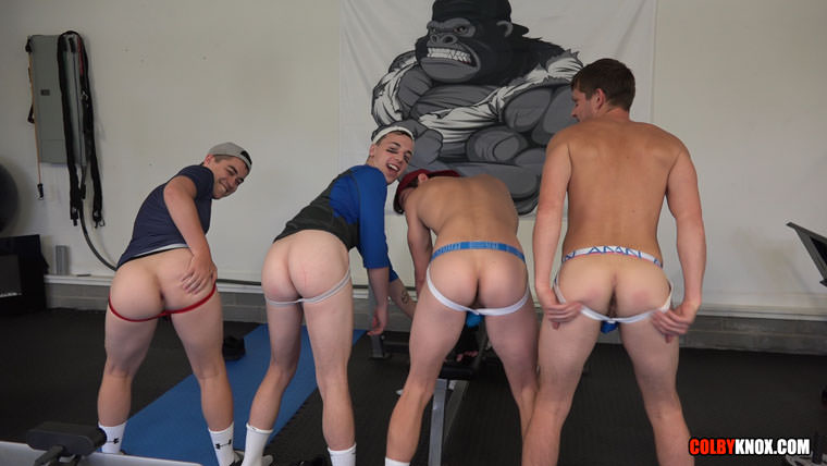 Colby Chambers, Mickey Knox, Troye Jacobs and Eli Lincoln - Colby Knox