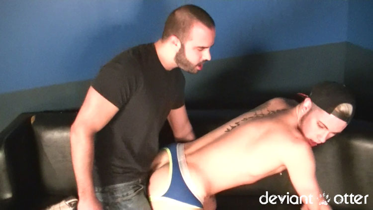 Devin Totter and Tyson - Deviant Otter