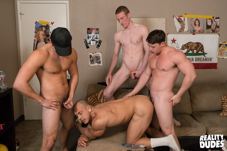 Charlie Pattinson, Kyle, Tobias and Leon Lewis - Dick Dorm