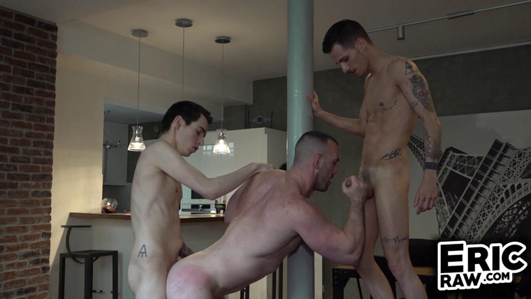 Alexis, Wesley and Kevin - Eric Raw