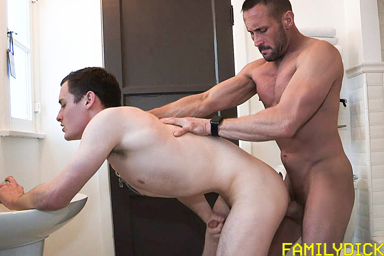 Josh Cannon and Myles Landon - Family Dick
