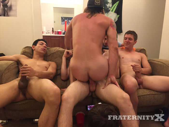 Blake, Orlando Fox, Alex and Tom Faulk - FraternityX