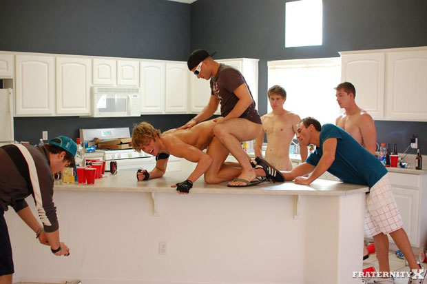 Morgan, Andy, Jansen and Will - FraternityX.com