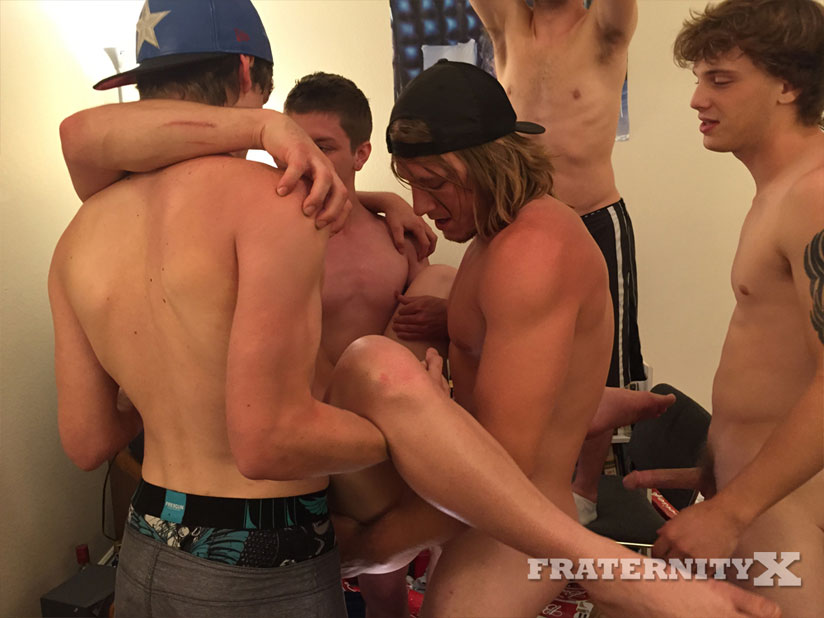 Troy Admiral (Donny Forza), Tyler Sky, Alex and Tom Faulk - FraternityX