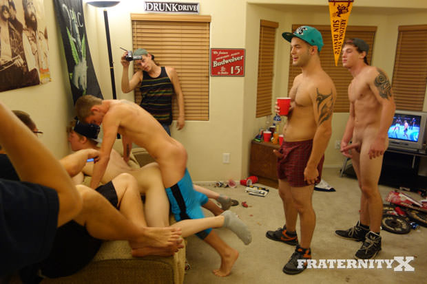 Troy, Liam, Ryan, Marc and Jay - FraternityX.com