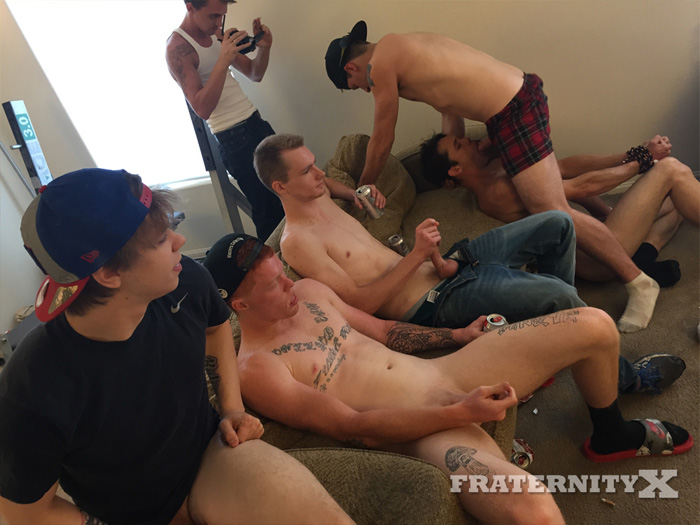 Mickey O'Brien, Jessie, Luke, Stone and John - FraternityX