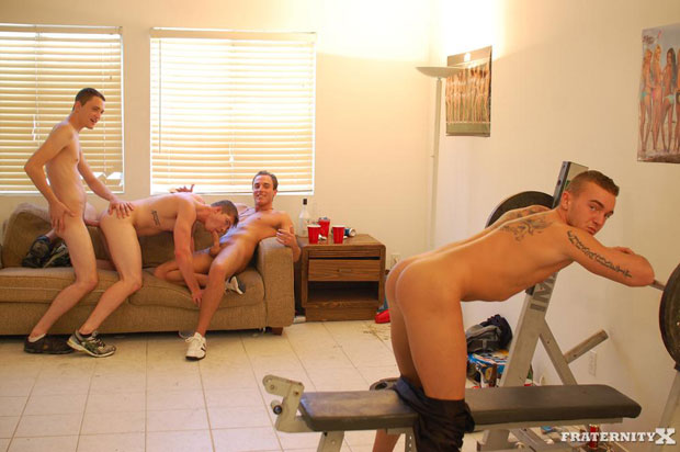 Grant, Shawn, Will and Angelo - FraternityX.com