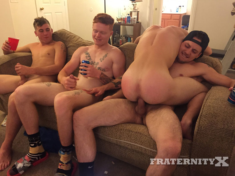 Mickey O'Brien, Luke, Tyler Sky and Corey - FraternityX