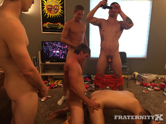 Tyler Sky, Donny Forza, Mike and Gauge Xander - FraternityX