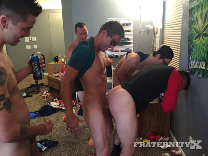Mike, Gauge, Russel and Michael - FraternityX