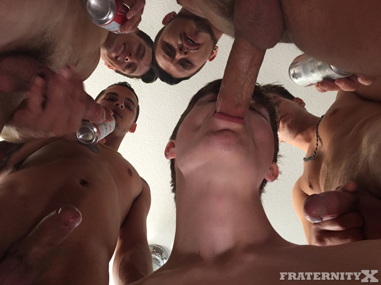 Seth Knight, Dean, Bentley, Carter and Travis - FraternityX