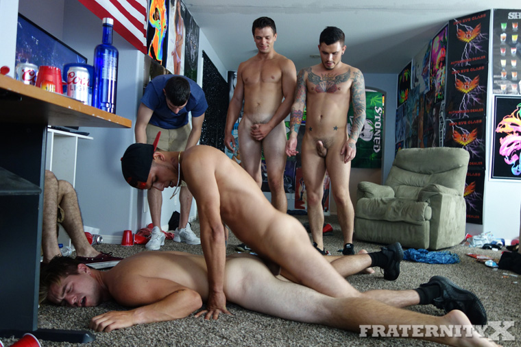 Dean, Seth Knight, Bentley Layne and Carter Michaels - FraternityX