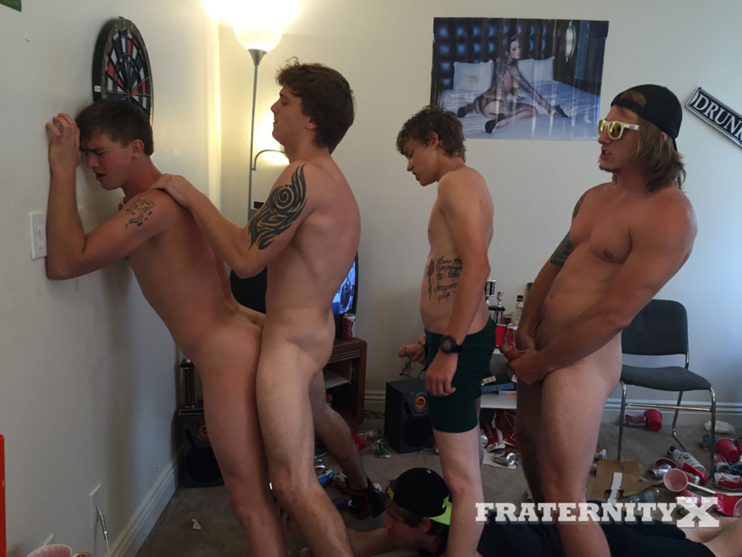Tyler Sky, Tom Faulk, Damion and Troy Admiral - FraternityX