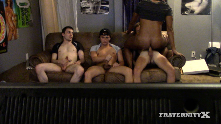 Chase Daniels, Jay Seabrook, Kade Rivers, Masyn Thorne, Levi Whitman and Quincy Green - FraternityX