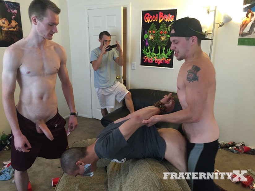Jon, Stone, Luke and Josh - FraternityX