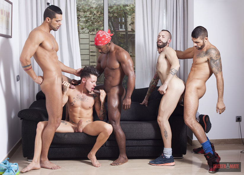 Max Toro, Angel Garcia, Troy Moreno, Ehrick Ortega and Lucas Fox - Fuckermate