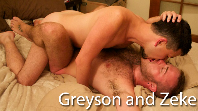 Greyson and Zeke - GuyBone