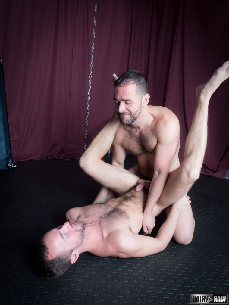 Eric Hassan and Alex Hawk - Hairy & Raw