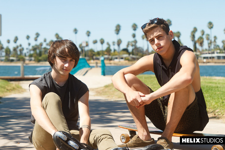 Cole Claire and Joey Mills - Helix Studios