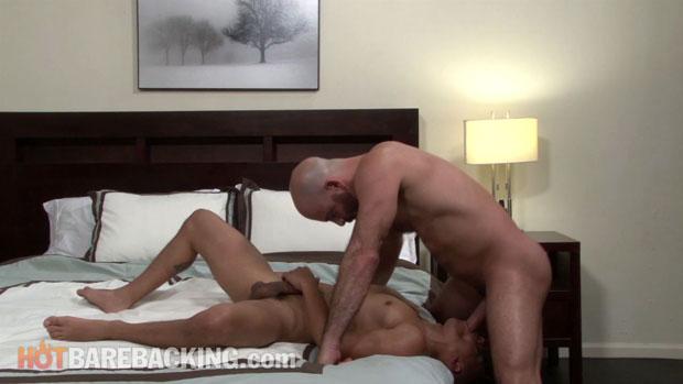 Watch Adam Russo and Armond Rizzo have bareback sex at Hot Barebacking