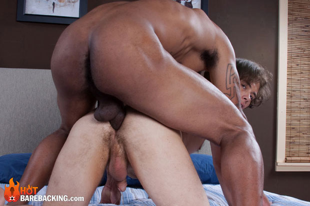 Watch Max Middleton and Mike Shawn have bareback sex at Hot Barebacking