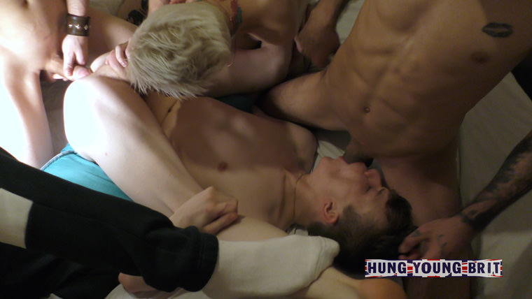 Alex and George - Hung Young Brit