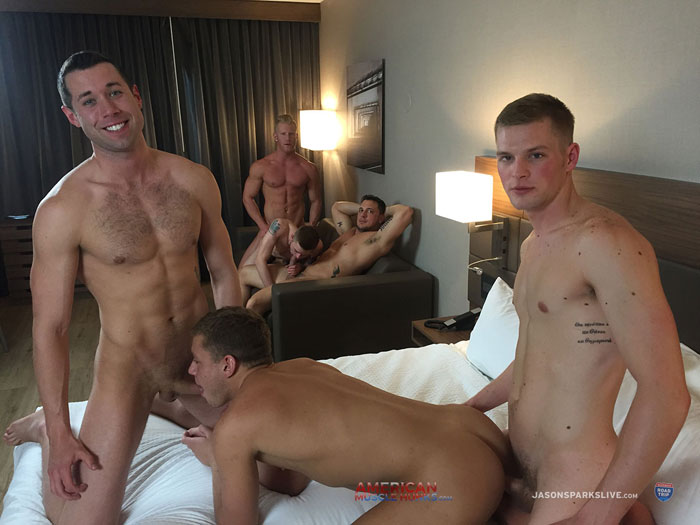 Cash Lockhart, Ian Levine, Joey D, Johnny V, Joshua James and Ty Thomas - Jason Sparks Live