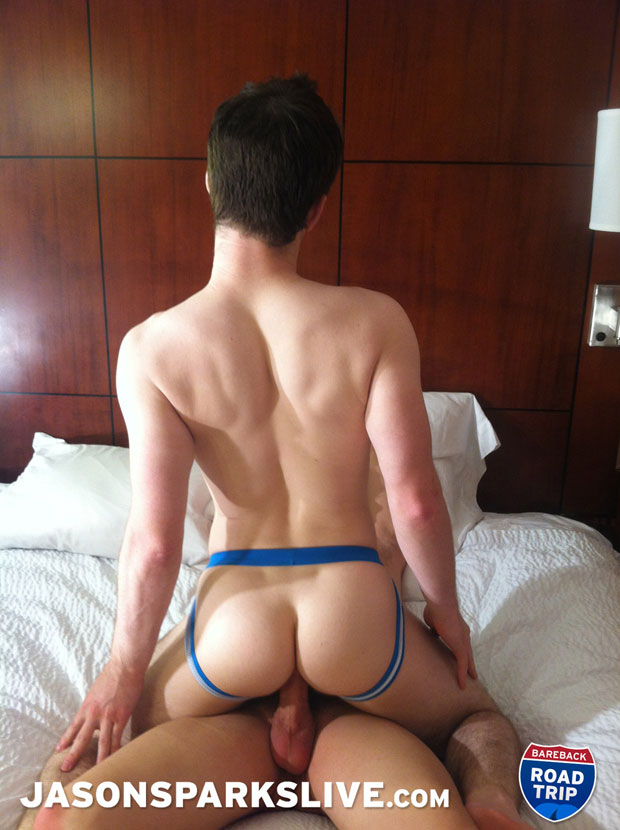 Watch Adam Rhodes and Andrew Connor have bareback sex at Jason Sparks Live