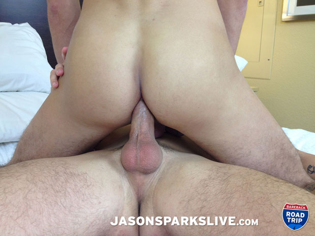 Watch Antonio Paul and Blake Ryan have bareback sex at Jason Sparks Live