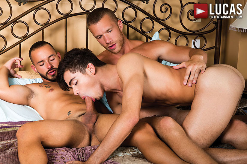 Jake Andrews, Rafael Lords and Ashton Summers - Lucas Entertainment